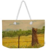 Yellow Meadow  Weekender Tote Bag