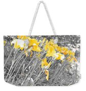 Yellow Moment In Time Weekender Tote Bag