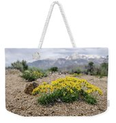 Yellow Mountain Blooms Weekender Tote Bag by Margaret Pitcher