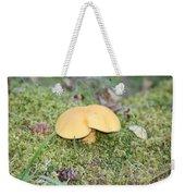 Yellow Mushroom Weekender Tote Bag