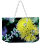 Yellow Ohia Flowers In Hawaii Weekender Tote Bag