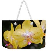 Yellow Orchid 2 Weekender Tote Bag