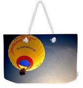 Yellow Pages Balloon Weekender Tote Bag