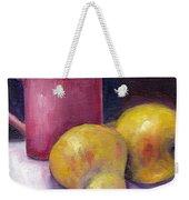 Yellow Pears And Mug Stll Life Grace Venditti  Weekender Tote Bag