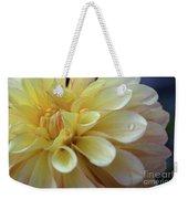 Yellow Petals With Raindrop Weekender Tote Bag