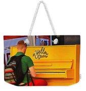 Yellow Piano Weekender Tote Bag