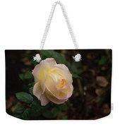 Yellow/pink Rose Weekender Tote Bag