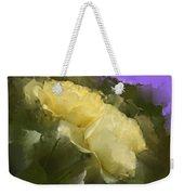 Yellow Pitch Weekender Tote Bag