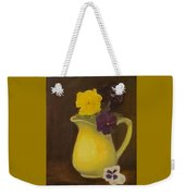 Yellow Pitcher 2 Weekender Tote Bag