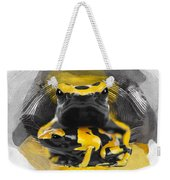 Yellow Poison Dart Frog No 04 Weekender Tote Bag