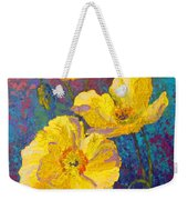 Yellow Poppies Weekender Tote Bag