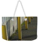 Yellow Posts Weekender Tote Bag