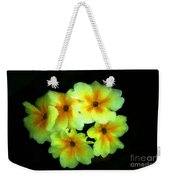 Yellow Primrose 5-25-09 Weekender Tote Bag