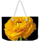 Yellow Ranunculus In Striped Vase Weekender Tote Bag