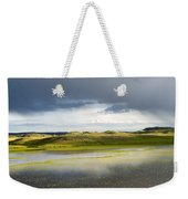 Yellow Reflection Weekender Tote Bag