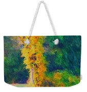 Yellow Reflections Weekender Tote Bag