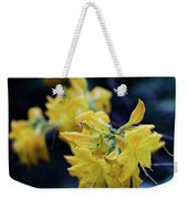 Yellow Rhododendron Flower Weekender Tote Bag