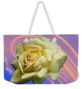 Yellow Rose 3 Weekender Tote Bag