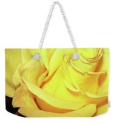 Yellow Rose For Friendship Weekender Tote Bag