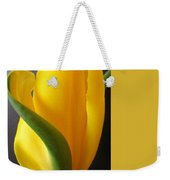 Yellow Rose Art Weekender Tote Bag