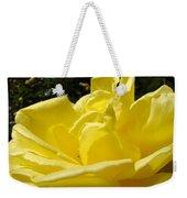 Yellow Rose Sunny Art Prints Roses Flowers Baslee Troutman Weekender Tote Bag