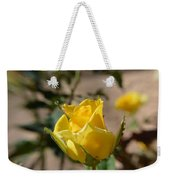 Yellow Rose With Ants Weekender Tote Bag