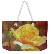 Yellow Rose With Raindrops 3590 Idp_2 Weekender Tote Bag