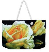 Yellow Roses Weekender Tote Bag