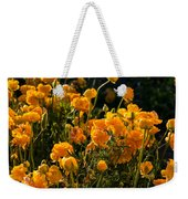 Yellow Rules The Field Weekender Tote Bag