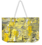 Yellow Sadness Weekender Tote Bag