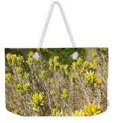 Yellow Sage Flower Weekender Tote Bag