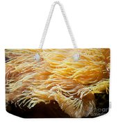 Yellow Sea Anemones Macro Weekender Tote Bag