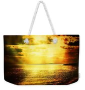 Yellow Sea Weekender Tote Bag