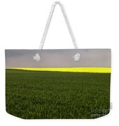 Yellow Skyline Weekender Tote Bag