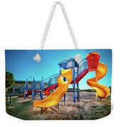 Yellow Slide Weekender Tote Bag
