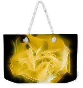 Yellow Solar Plexus Chakra Weekender Tote Bag