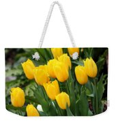 Yellow Spring Tulips Weekender Tote Bag