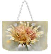 Yellow Star Thistle Weekender Tote Bag