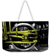 Yellow Steel Weekender Tote Bag