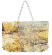 Yellow Stone Of Livadh Weekender Tote Bag