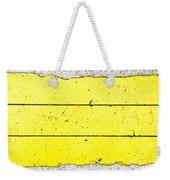 Yellow Stone Weekender Tote Bag