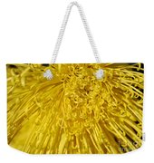 Yellow Strings Weekender Tote Bag