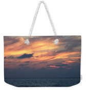 Yellow Sunset Weekender Tote Bag