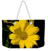 Yellow Sunshine Work Number 8 Weekender Tote Bag