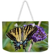 Yellow Swallowtail Butterfly Two Weekender Tote Bag