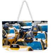 Yellow Taxis Weekender Tote Bag
