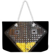 Yellow Tip Weekender Tote Bag