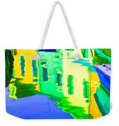 Yellow Toned Reflections Weekender Tote Bag