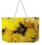 Yellow Tree Flower Weekender Tote Bag