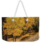 Yellow Trees Weekender Tote Bag